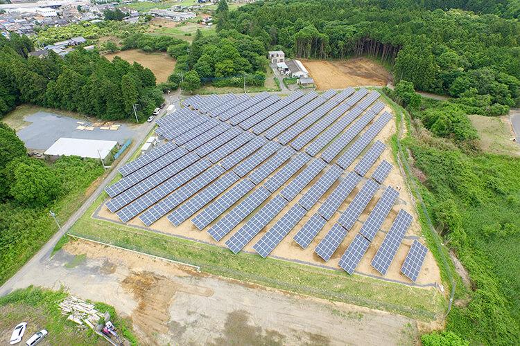 ノア太陽光発電画像