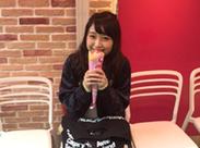 アイドルの大矢梨華子さんが来店