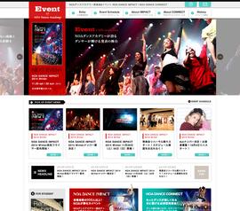 イベント特設ページ【EVENT of NOA Dance Academy】開設!