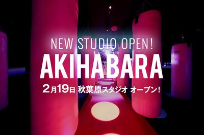 ボクシングフィットネスジム ノア秋葉原スタジオ2月19日NEW OPEN!